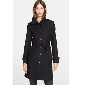 NWT Burberry Brit Rushfield Wool Blend Coat